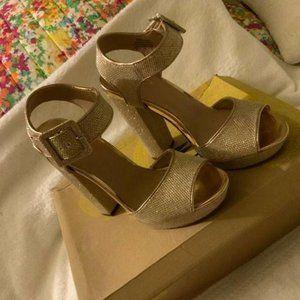 Mix No. 6   Froleon Sandal Glittery Gold
